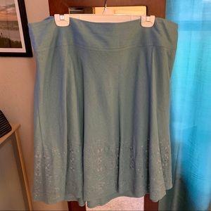 Merona Linen Midi Skirt
